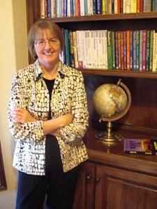 Susan Holmes, Author