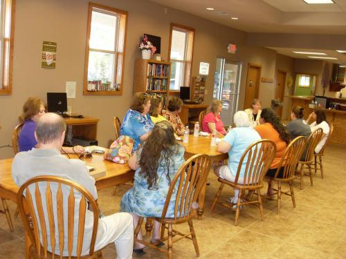 Madison County book club June 24 2014
