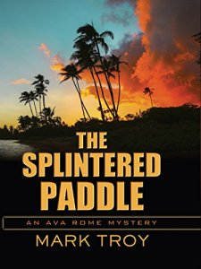 the splintered paddle cover mark troy