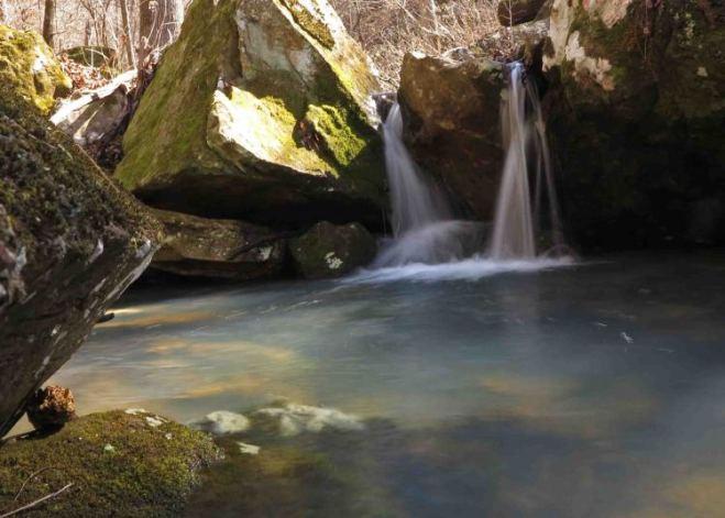 Cascade at Bliss Spring  ©  Jim Warnock