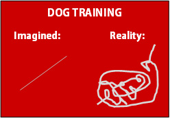Dog training real and imagined