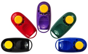 Karen Pryor I-Click dog training clickers