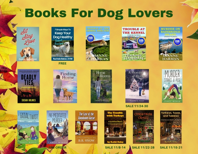 Books for Dog Lovers – Waterside Kennels Mysteries
